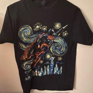 Men's Superman Starry Night T-shirt